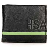 Mens Leather Wallet (F86801GRN)