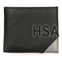 Mens Leather Wallet (F86805SLV)