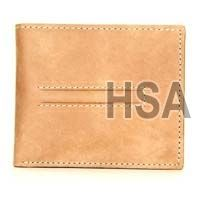 Mens Leather Wallet (F86846BRN)