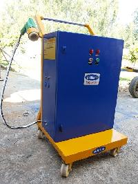 Lpg Cylinder Hot Air Sealing Machine