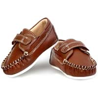 Infant Baby Boy Slip-on Flats Shoes Tan Aaron Style