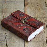 Leather Embrossed Diaries