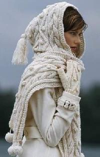 Hand Knitted Merino Mufflers