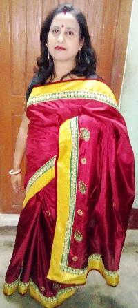 Red Kanji Pattu Saree