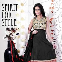 Black Designer Readymade Salwar Suit