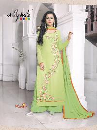 Branded Designer Georgette Kimya Salwar Kameez
