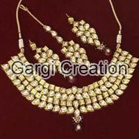 Polki Necklace Set
