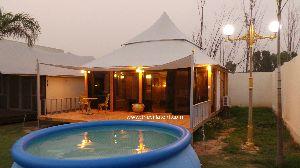 Mughal E Taj Luxury Resort Tent