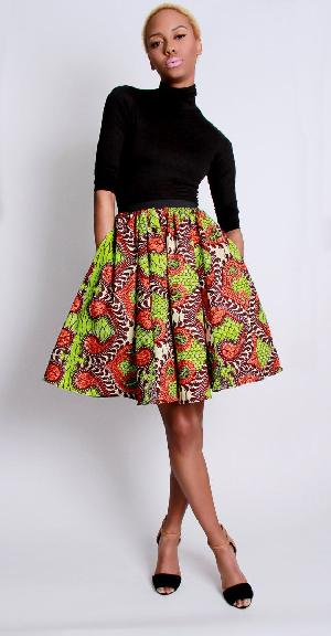 African Fancy Skirts