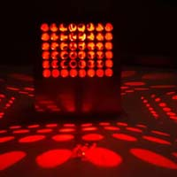 Decoradda Honeycomb Red 1w Led Wall Ceiling Light