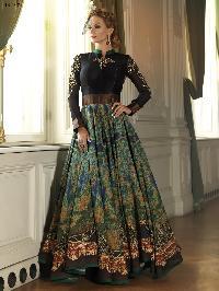 Bhagalpuri Digital Printed Gown JN2702