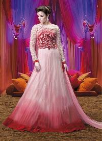 Designer Embroidery Anarkali suit as JN10009