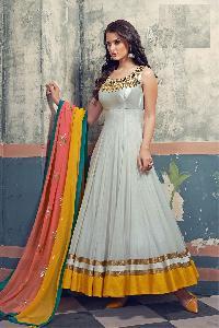 Designer Embroidery Anarkali suit as JN10013