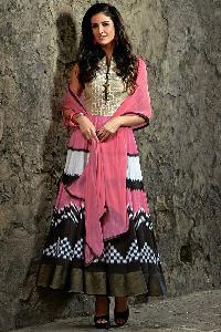 Designer Embroidery Anarkali suit as JN10016