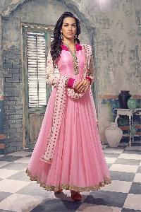 Designer Embroidery Anarkali suit as JN10017