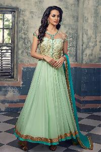 Designer Embroidery Anarkali suit as JN10021