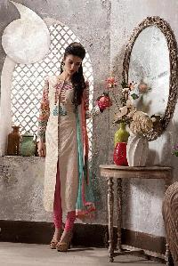Designer Embroidery Anarkali suit as JN10023