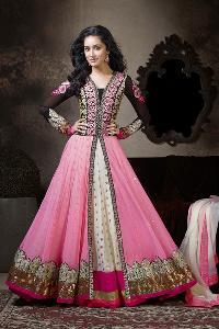 Designer Embroidery Anarkali suit as JN1138