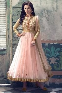 Designer Embroidery Anarkali suit as JN2000