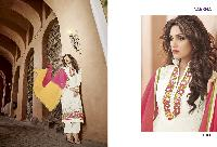 Georgette with heavy embroidery Dress as PYD 11181