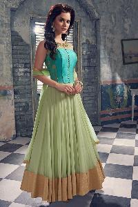 Net embroidery Anarkali Suits as JN10001
