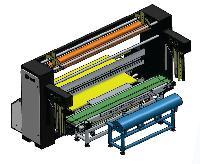Fully Automatic Fabric Packing Machine Packomat-fap100