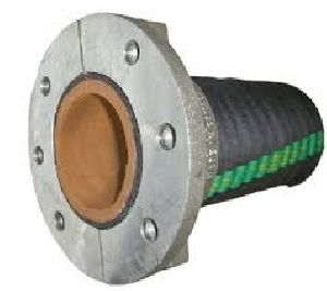 Rubber Suction Hose With Almunium Split Flange Fitting