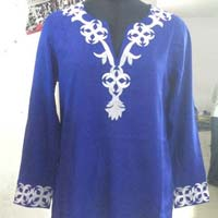 embroidered tunic long sleeve