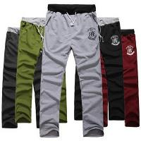 Mens Stylish Drawstring Casual Trousers