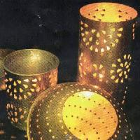 Brass Candle Lamps