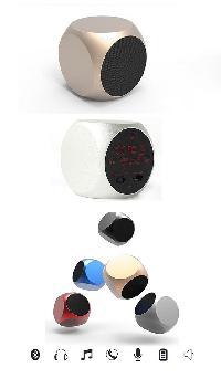 Aluminum Diec Shape Bluetooth Speaker