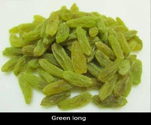 Long Green Raisins