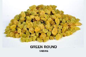 Round Green Raisins