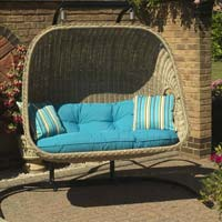 Cane 2 Seater Hanging Chairs