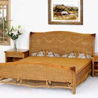 Cane Double Cot