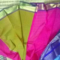 Temple Designer Tissue Saree
