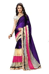 Multi Fabric Bollywood Saree