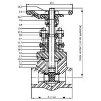 Gate Valve (pressure Class 150 Through 900)