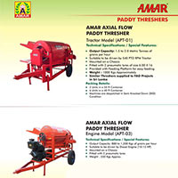 Amar Paddy Threshers