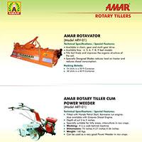 Amar Rotary Tillers, Rotavator