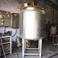 Jacketed Storage Tanks