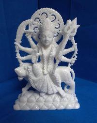 Indian God Idols, Ganesha Soapstone Statue, Shiv Pariwar Statue, White Durga Mata Statue, Vishnu Laxmi Statue and Hanuman