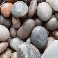 River Washed Granite Cobbles