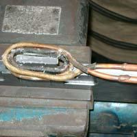 Induction Carbide Tip Brazing Machine