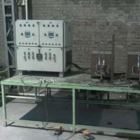 Induction Cycle Fork Brazing Machine