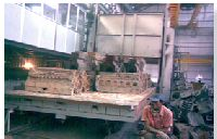Fuel Fired Bogie Hearth Furnaces