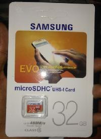 Samsung Evo Card 32 Gb In Class 10