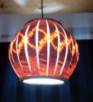 Spherical Slitz  Hanging Light