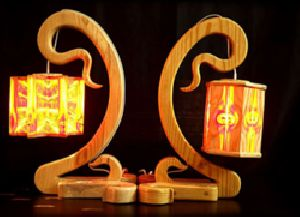 Wooden Decorative Table Lamp