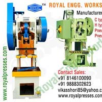 Power Press Machine Hydraulic Power Press Pneumatic Power..
